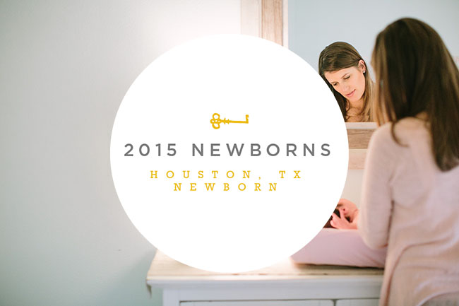 Favorite Newborn 2015 Blog TItle