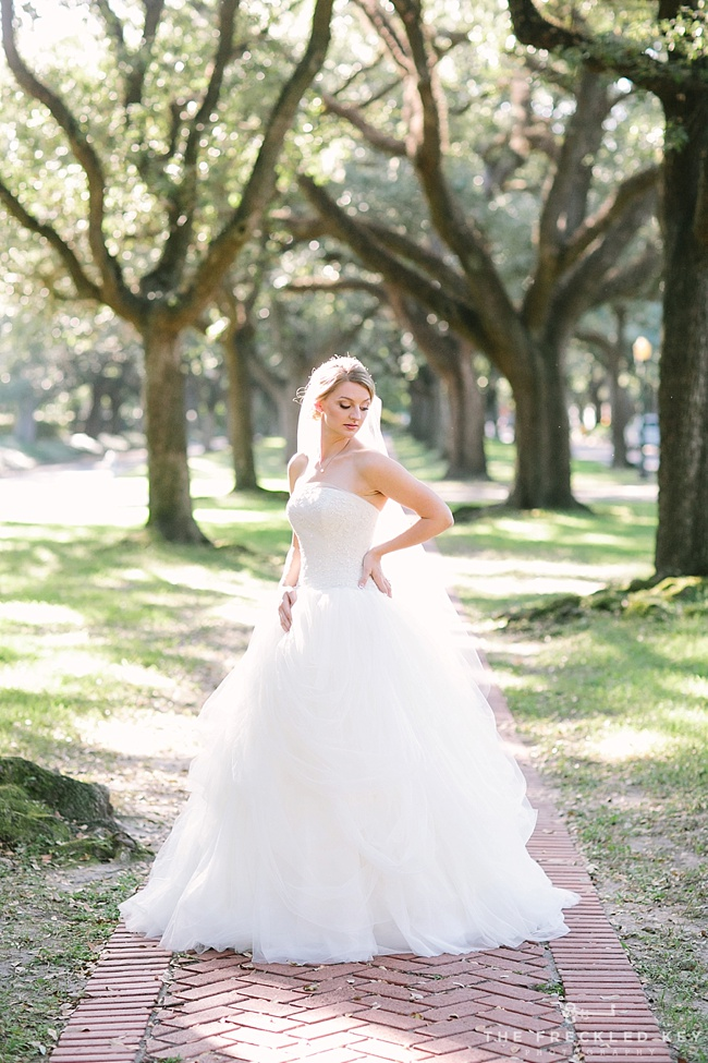 Houston bridal portraits - Kaylyn - The Freckled Key Photography