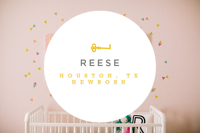 The Freckled Key is an in home newborn photographer based in Houston, TX